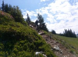 technische Stelle Bergstadl Trail Saalbach
