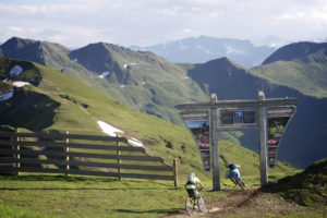 Tor zum Hacklberg Trail Saalbach