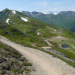 Ausblick auf die ersten Kilometer des Hacklberg Trails