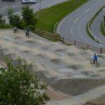 Pumptrack an der Talstation im Bikepark Serfaus Fiss Ladis