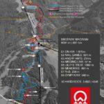 Streckenplan Bikepark Wagrain