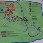 Übersicht der Trails des Bikeparks Wurbauerkogel