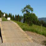 Brücke auf der Milka Line