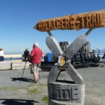 X-Line und Hacklberg Trail Wegweiser