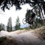 Jumps im Bikepark Oberammergau