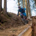 Kleiner Hobbit im Bikepark Oberammergau