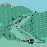 Streckenplan Bikepark Oberammergau