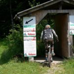 Starthaus im Bikepark Todtnau