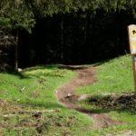 einfacherer Abschnitt am EinsEinser Trail Neustift