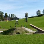 Log-Jump mit 7m Gap