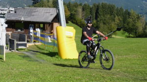 Schlepplift mit ProTow Bügelsystem im Bikepark Königsberg