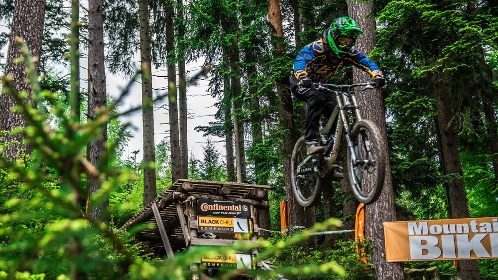 Bikeparks in Deutschland: Downhill im Bikepark Bad Wildbad