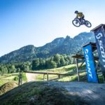 Big Ball Line Drop Funbox Bikepark Lenggries