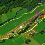 Streckenplan Bikepark Lenggries