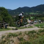 Table im Bikepark Lenggries