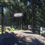 Start der Trails im MTB-Park Hürtgenwald