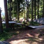 Wallride am Übungsgelände Bikepark Ochsenkopf