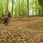 Biker im Bikepark Osternohe