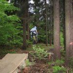 Gap im Bikepark Ochsenkopf