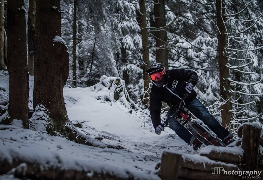 Biken auch im Winter, J.T. Photography