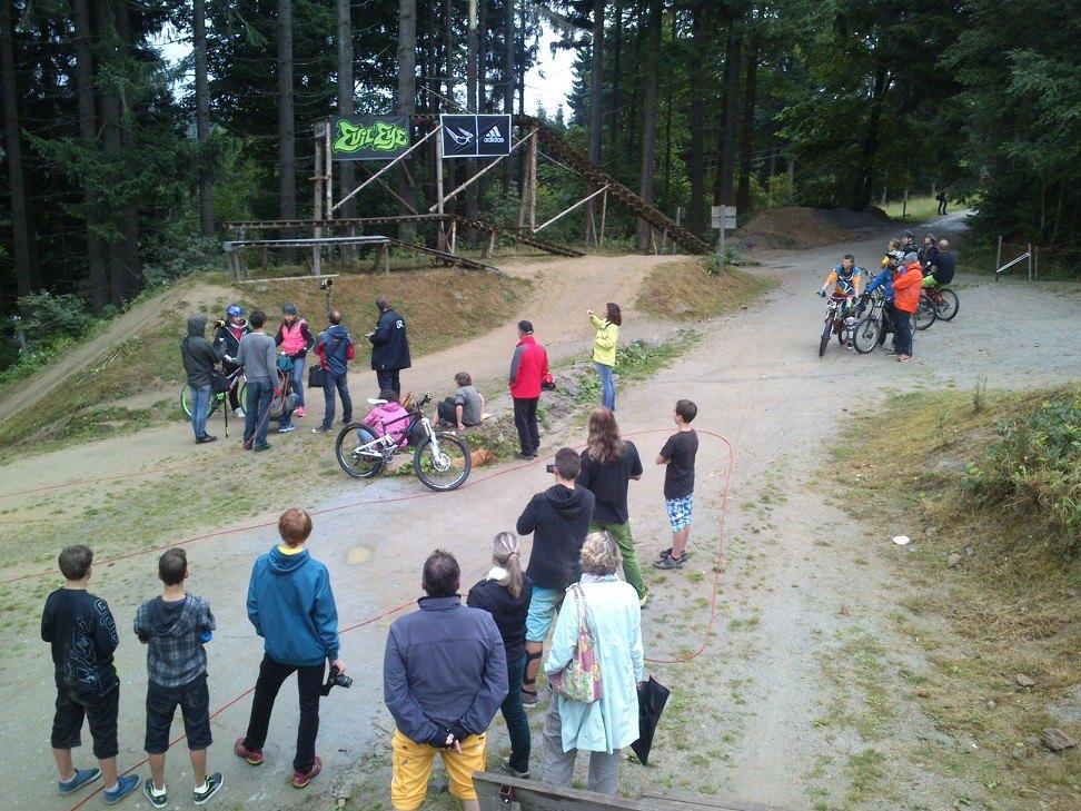 Große Drops Bikepark Bischofsmais Geisskopf