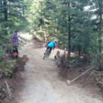 Flow Country Trail während der Bauphase