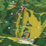 Streckenplan Bikepark Bischofsmais Geisskopf