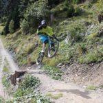 oberer Abschnitt der roten Strecke Alpen Ride