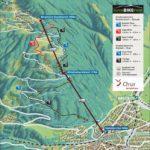 Streckenplan Alpenbikepark Chur