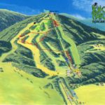 Streckenplan Bikepark Spicak