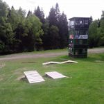 Skill Center im Bikepark Spicak