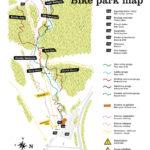 Streckenplan Bikepark Kranjska Gora