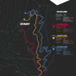 Trailmap Black Mountain Bikepark Elstra