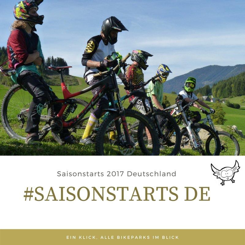 Saisonstarts Deutschland 2017