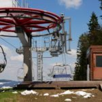 Bergstation Bikepark-Sessellift Lipno
