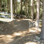 Table am roten Trail
