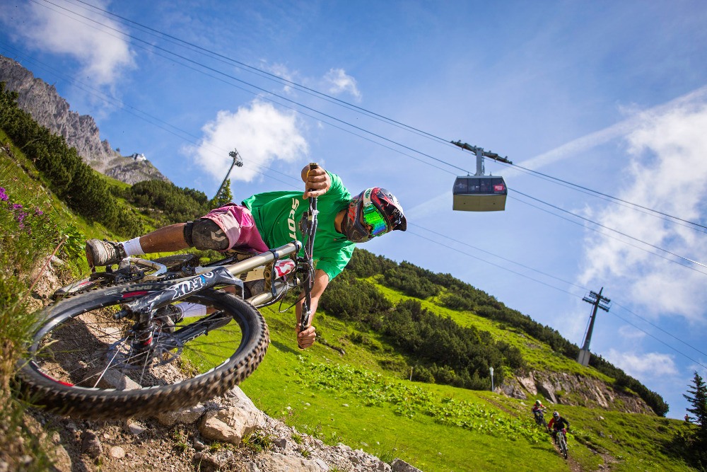 Singletrack Trails in Tirol