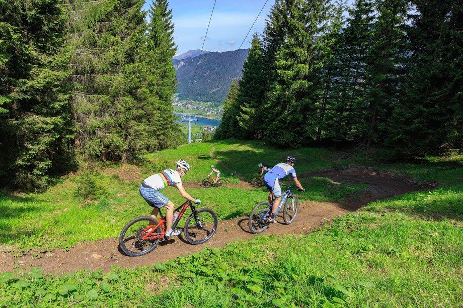 © Weissensee Information, Steinthaler | Bikepark Weissensee