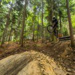 Gap im Bikepark Kasina
