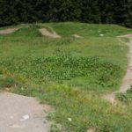 Die ersten Meter des Downhill Trails Tschack Norris