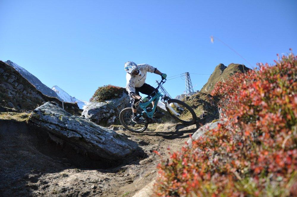 Biker am Kitzsteinhorn