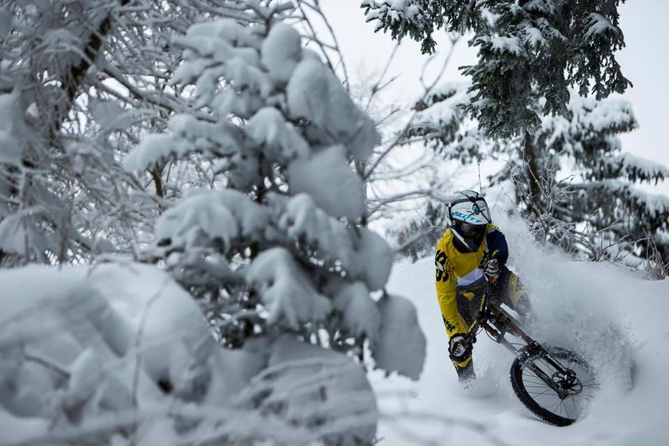 Im Bikepark Chur ist biken auch im Winter möglich