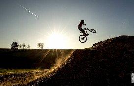 Airtime im Bikepark Olpe Fahlenscheid
