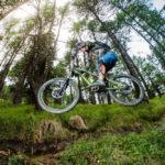 (c) bikeboard / Roland Kachelhauser | Sprung am Gornerwald Trail in Kals