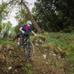 (c) bikeboard / Roland Kachelhauser | Steile Passage am Gornerwald Trail Kals