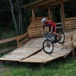 Biker im Leopark Semmering