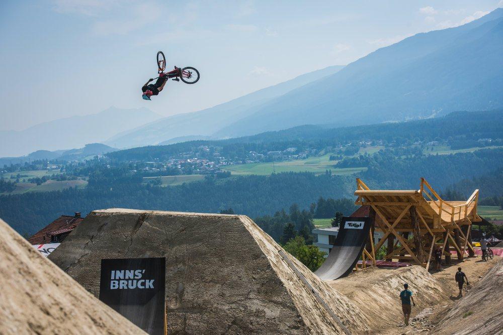 Slopestyle Crankworx Innsbruck | © TVB Innsbruck / Stefan Voitl
