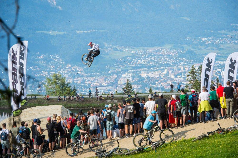 Whip-Off Crankworx Innsbruck | © TVB Innsbruck / Stefan Voitl