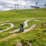 Junior Trails Reiteralm mit Pruenegg Jet im Hintergrund