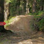 Chickenway am Hardrock Trail im Bikepark Wagrain